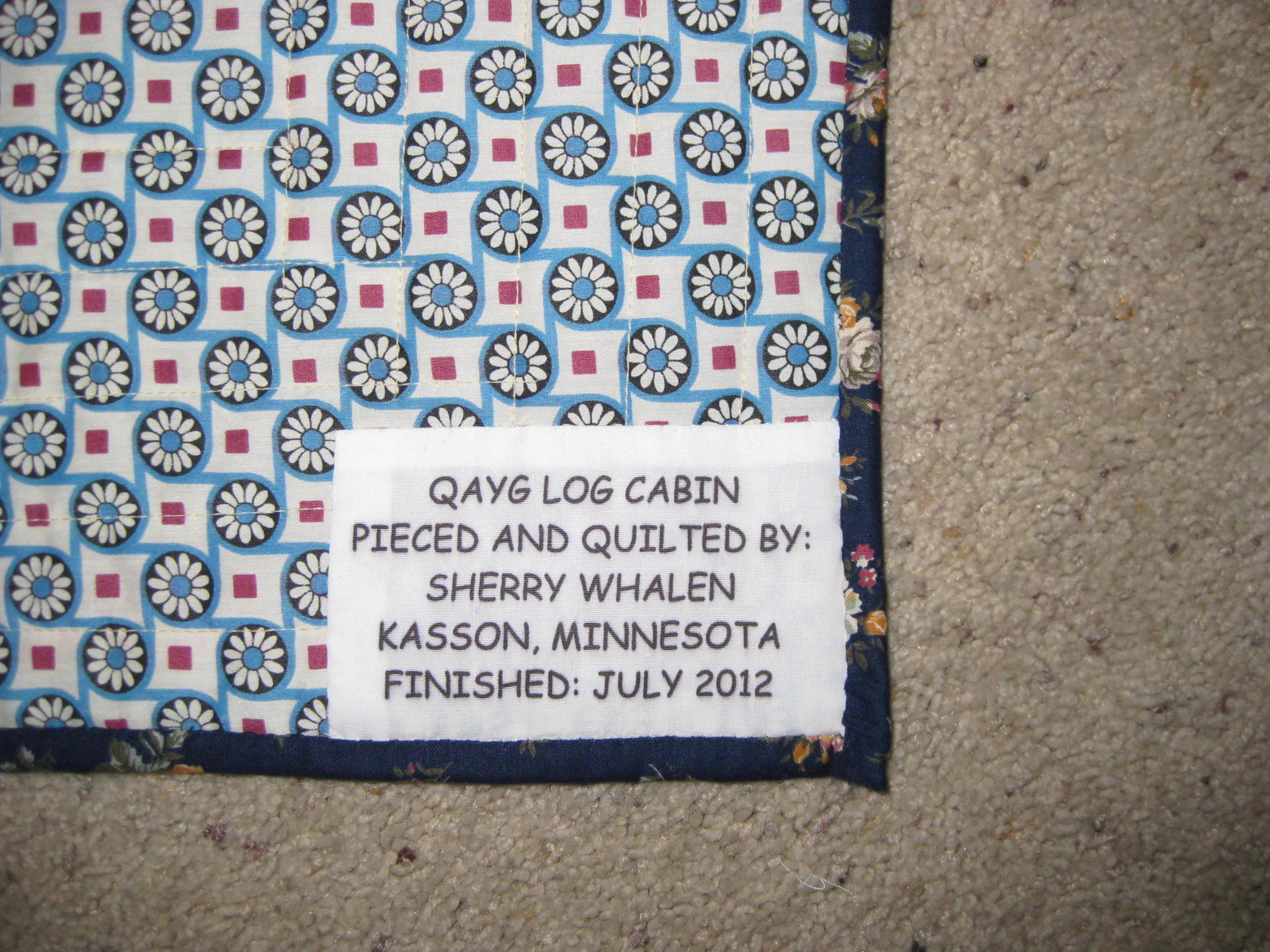 Name:  log cabin label.jpg Views: 289 Size:  902.4 KB
