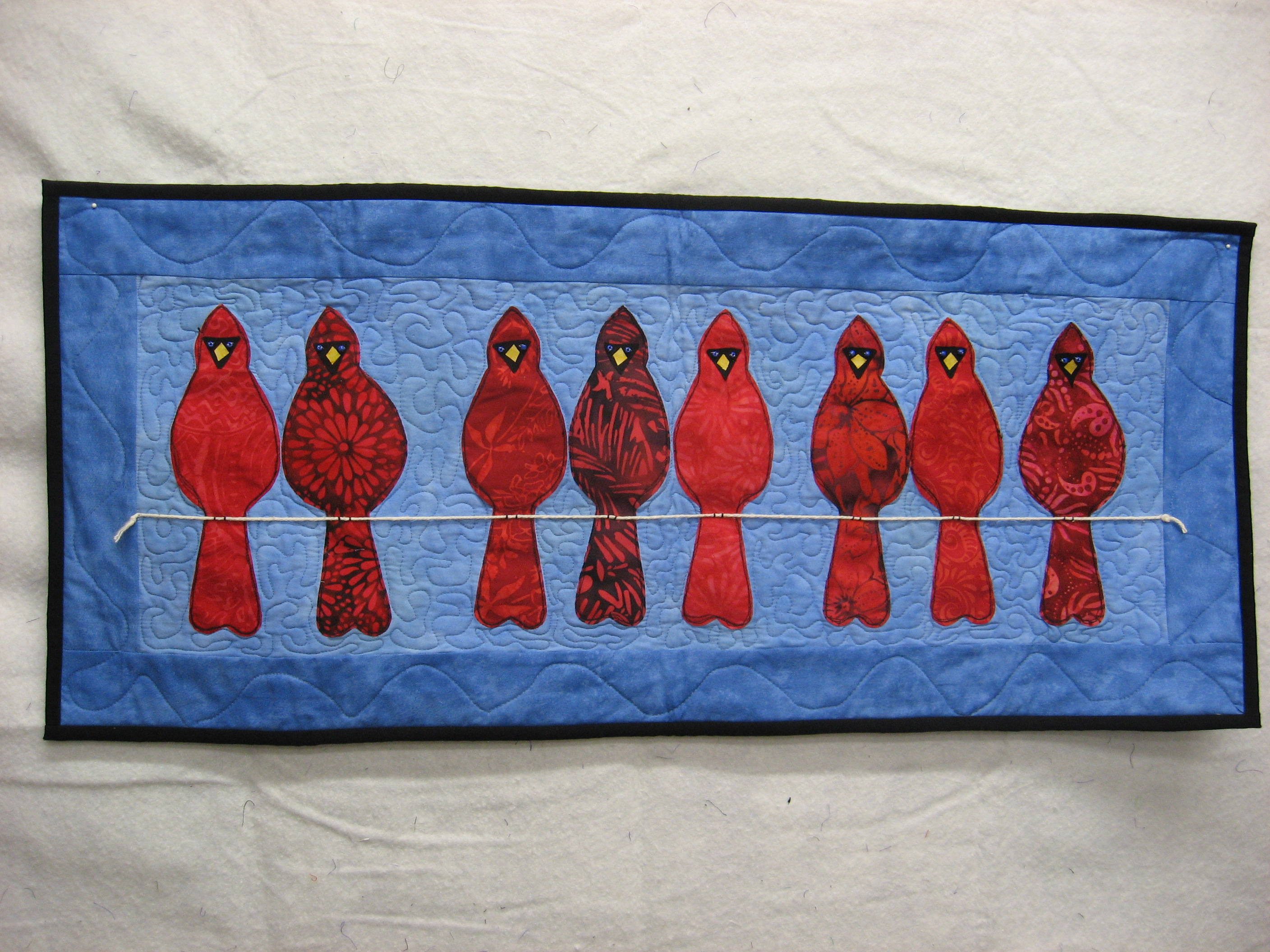 Name:  Cardinals on Line.JPG