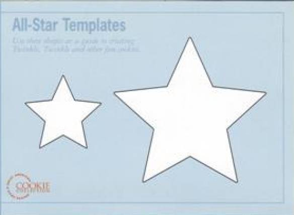 Star Cookies with Templates