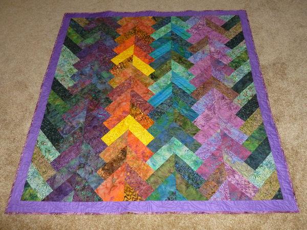 The Batik Braid Quilt