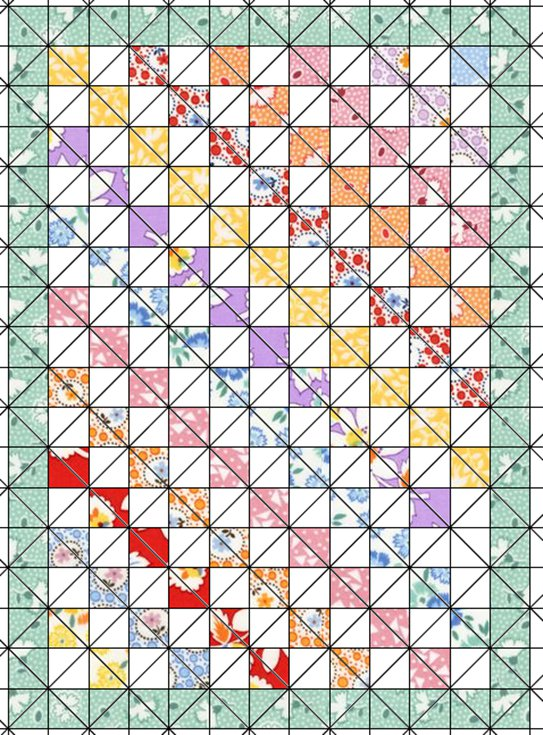 Designing a Quilt with GIMP - Free SoftwareQuilt Drawing Software
