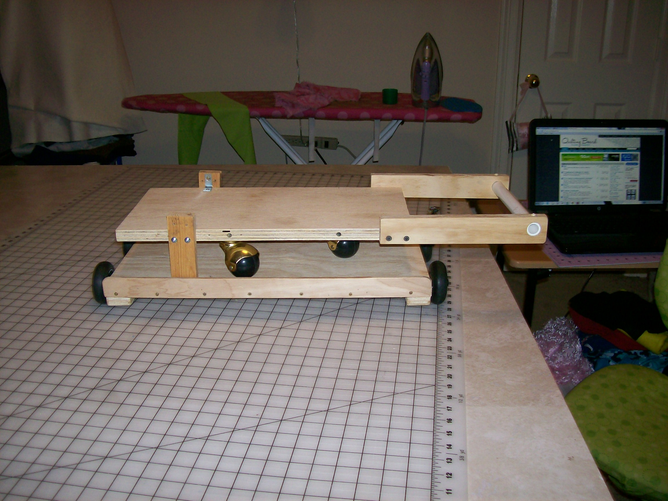 Alterations To Ken Lund Quilting Frame Quiltingboard Forums