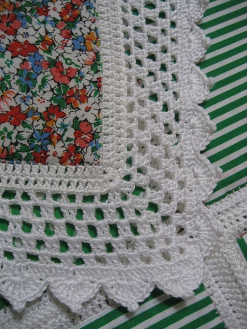 My Crocheted Quilt Tutorial Pics