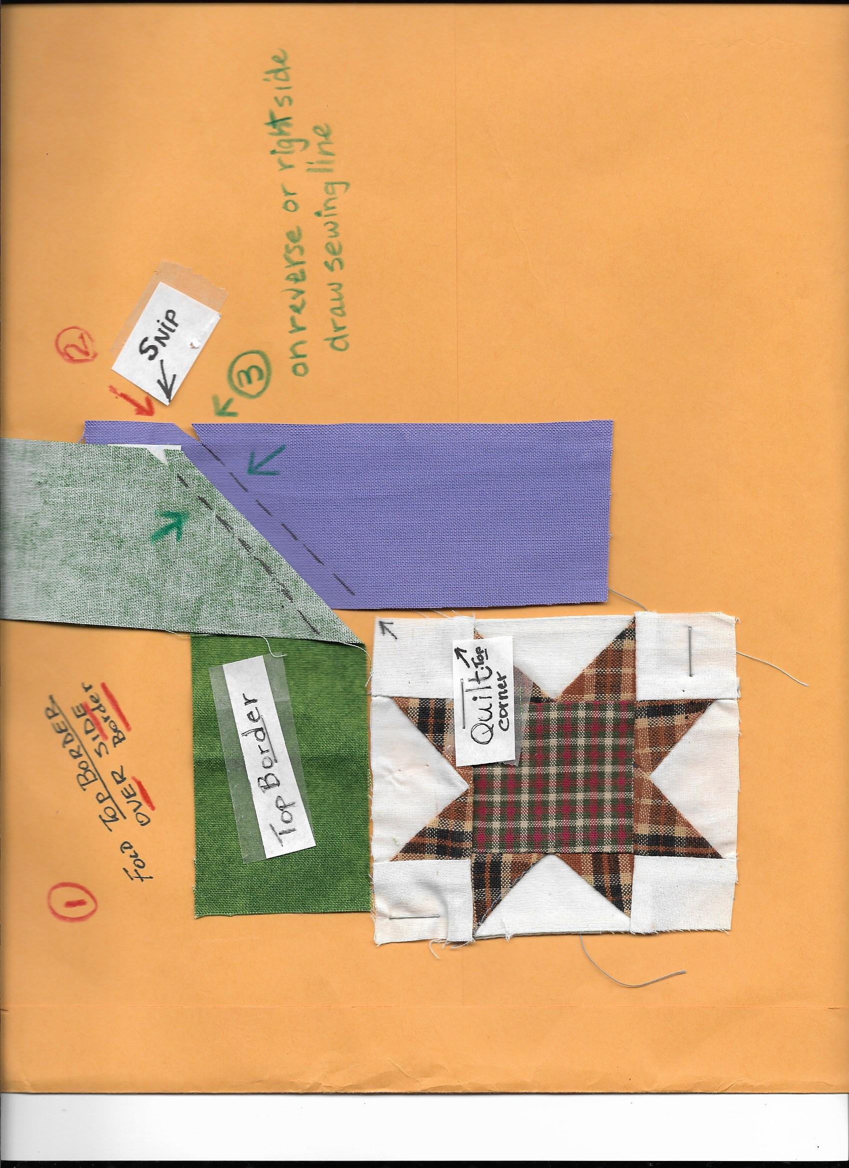 Name:  Mitered corner - number 2.jpeg Views: 1966 Size:  910.0 KB