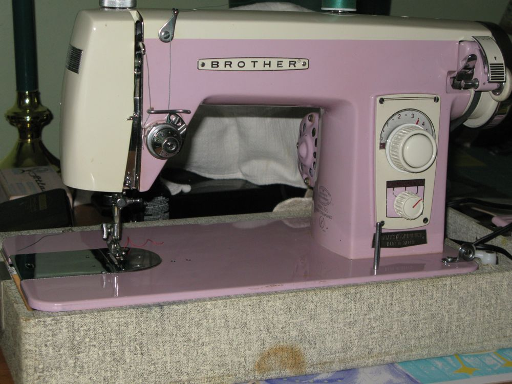 Looking For Manual Of Brother Superstreamline 40 Custom Vintage Brother Sewing Machine Manual