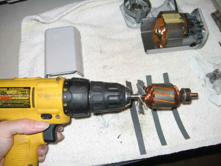 Name:  armature in drill.jpg