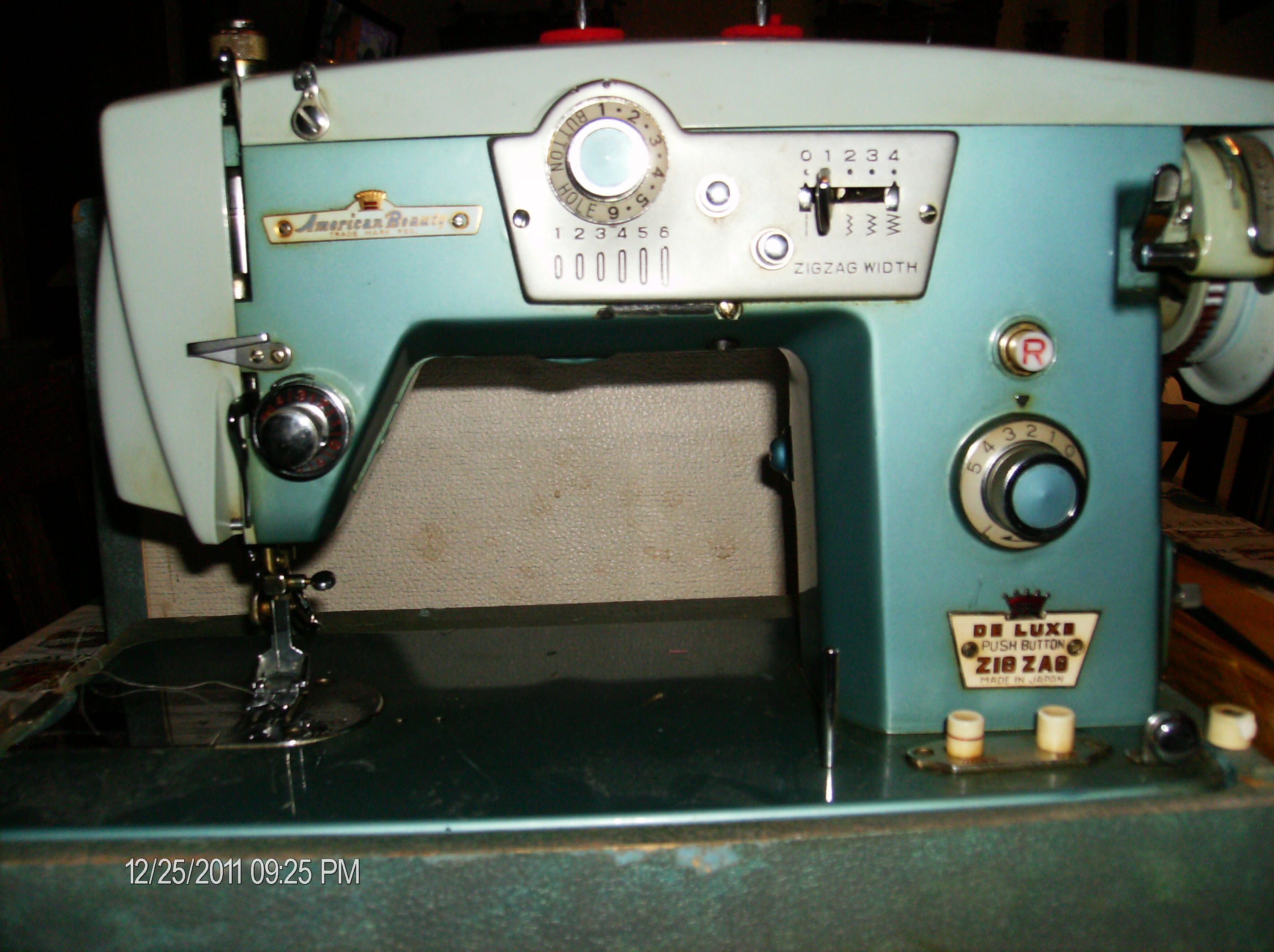 american made sewing machine