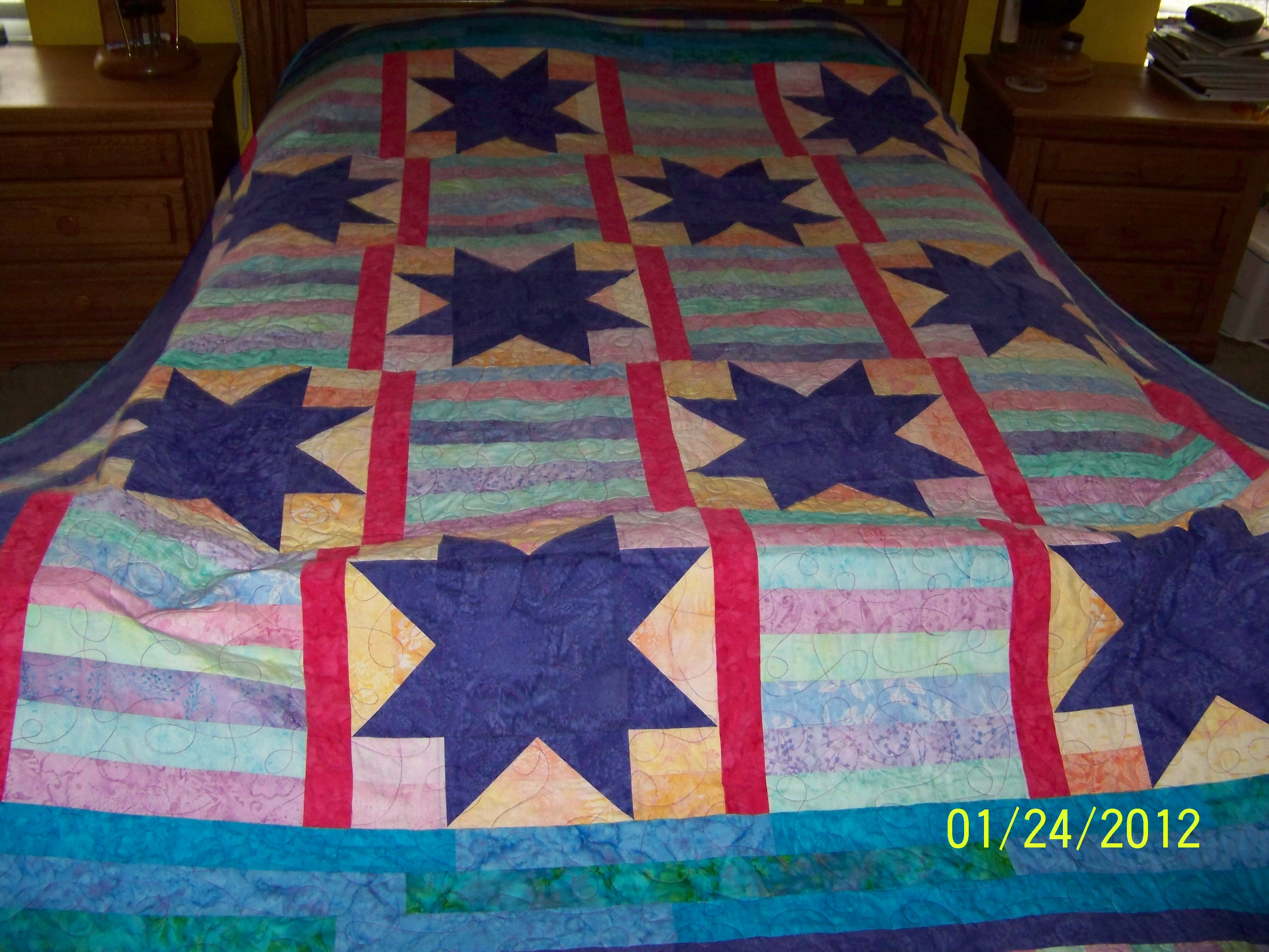 Name:  Mystery quilt purple stars.JPG