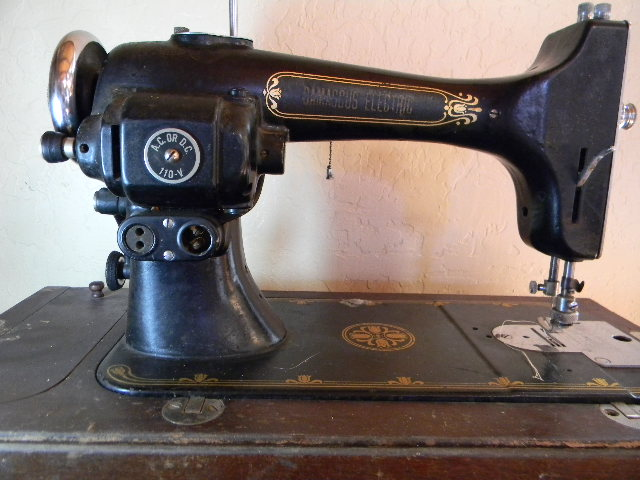 What Is In The Big Box A Damascus Electric Impressive Damascus Sewing Machine
