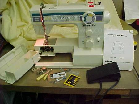 Name:  White Sewing Machine Model 127.jpg Views: 4526 Size:  21.9 KB