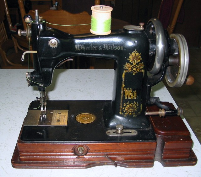 wheeler & wilson sewing machine serial numbers