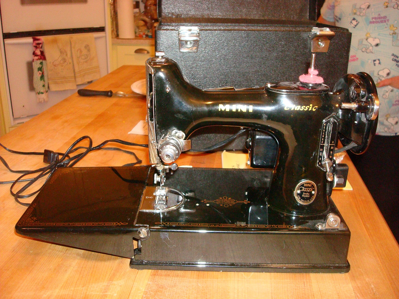 Mal's mini sewing machine - Quiltingboard Forums