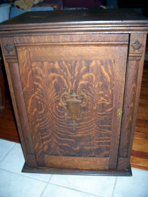 Franklin Treadle in a Parlor Cabinet
