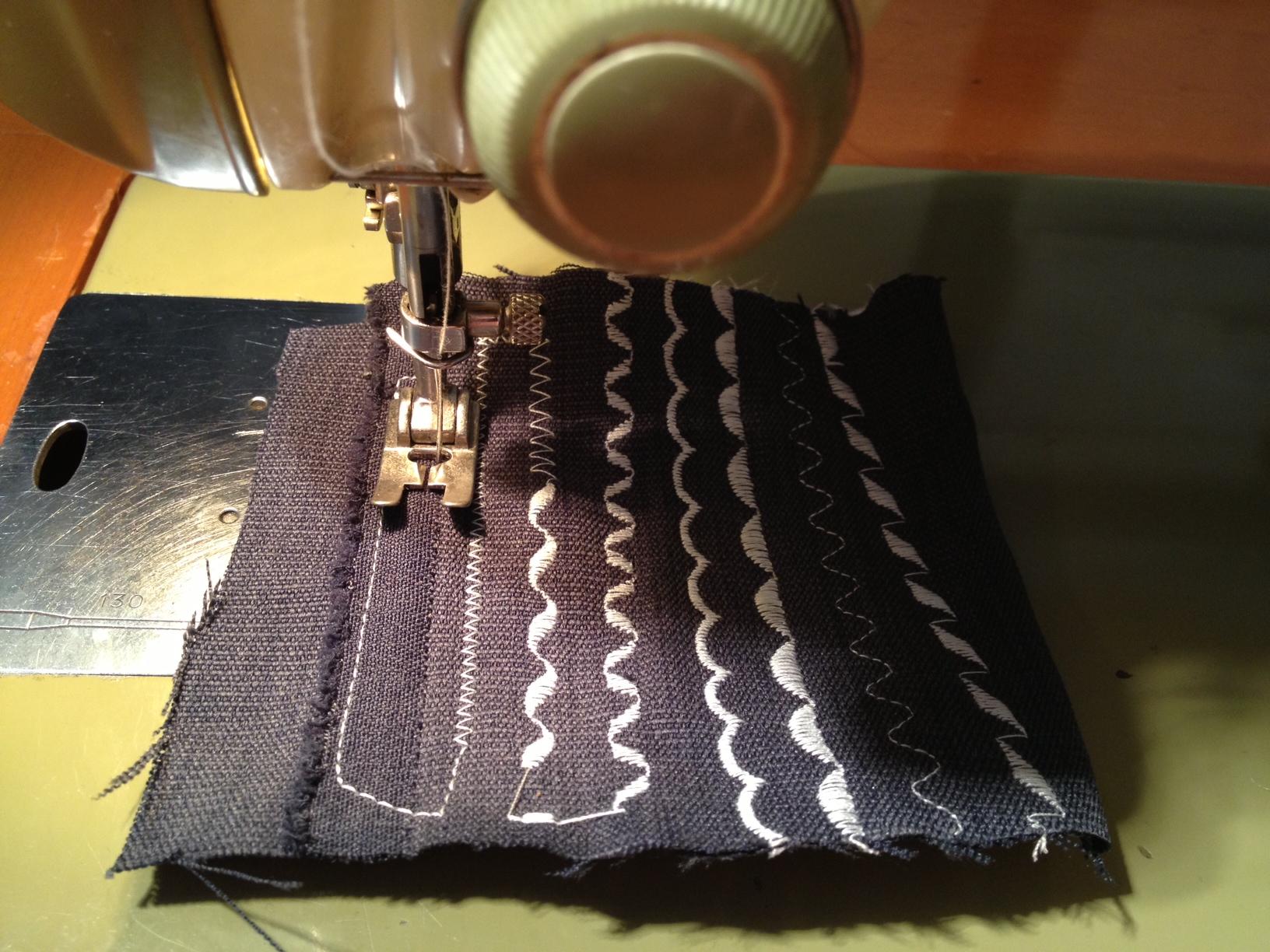 Bernina 640-2 automatic stitches