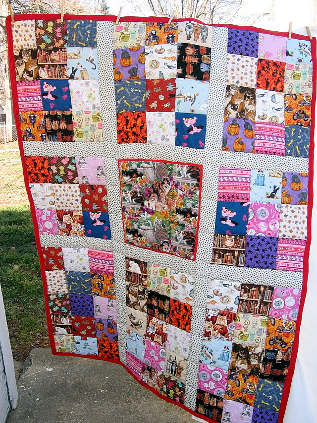 Name:  Aunt S quilt finished.JPG