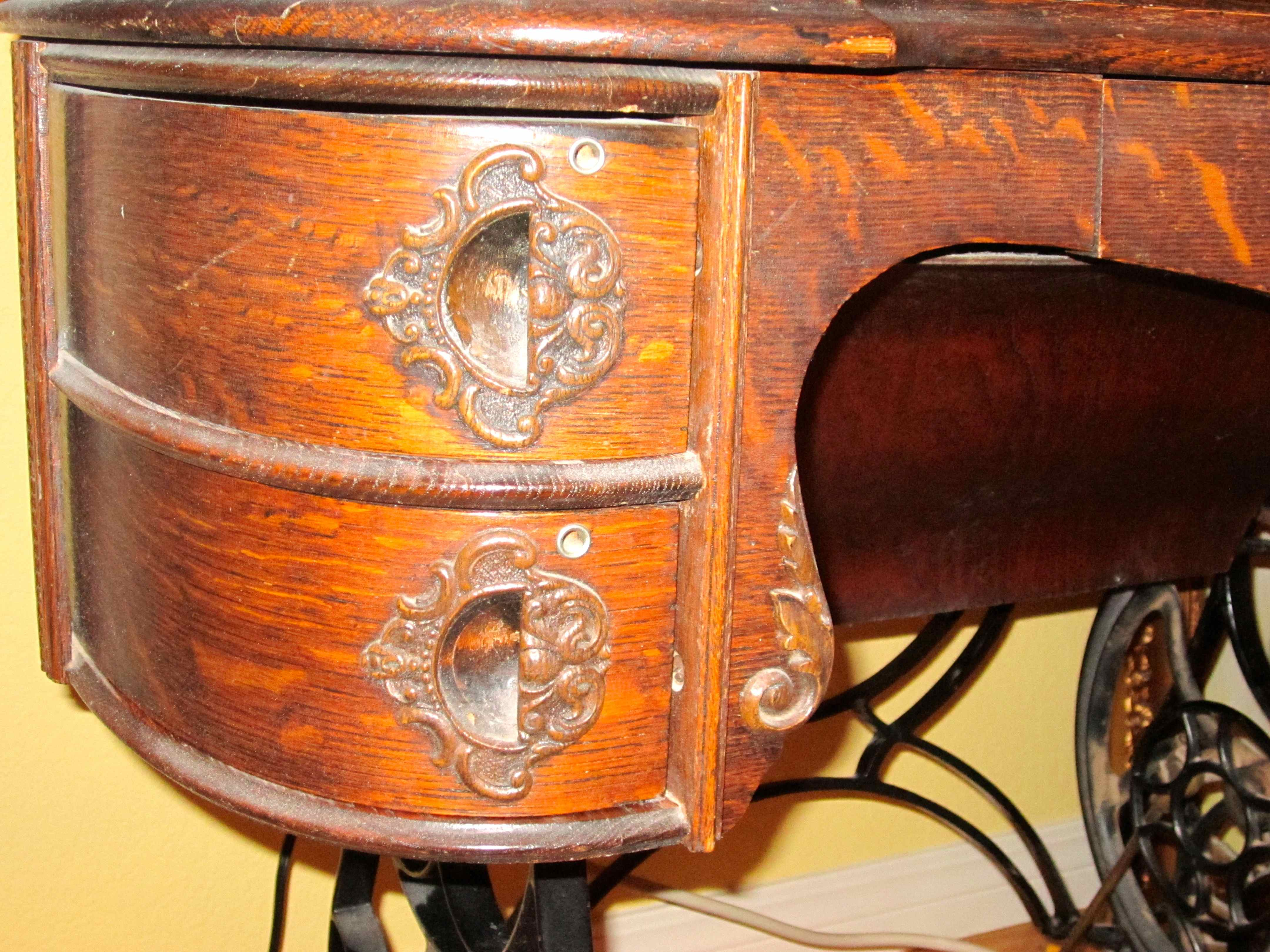 Name:  Curved drawers on the cabinet-The Bartlett.jpg