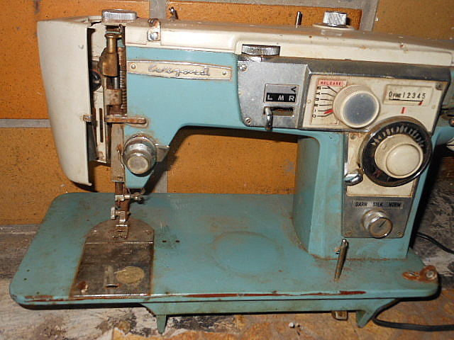 Wizard Sewing Machine Late 40s Or Early 40s Awesome Brother Ja 28 Sewing Machine Manual