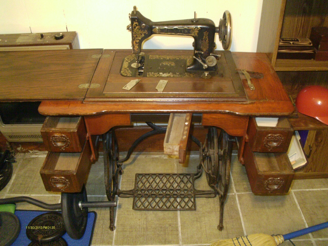 dating singer treadle machines