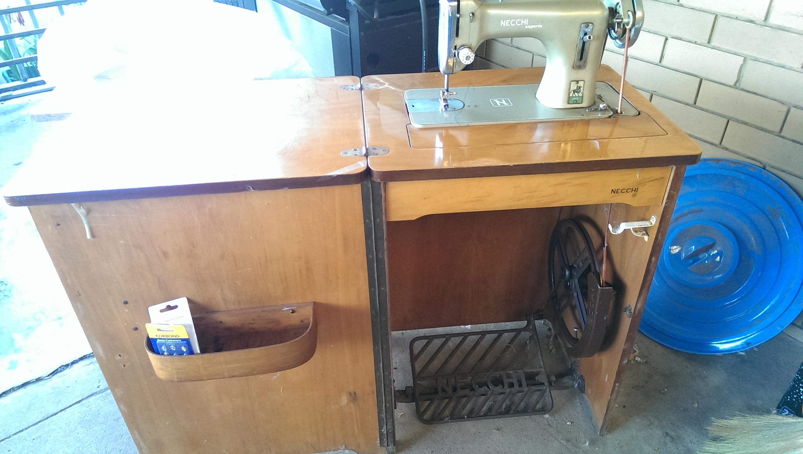 Necchi Esperia In Treadle Cabinet Supernova Sewing Machine Threading Diagram Vintage Name Imag0010 1 Views 1330 Size 9521 Kb