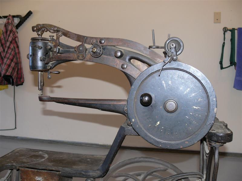 Leather Patcher Politype No 40 Impressive Vintage Leather Sewing Machine