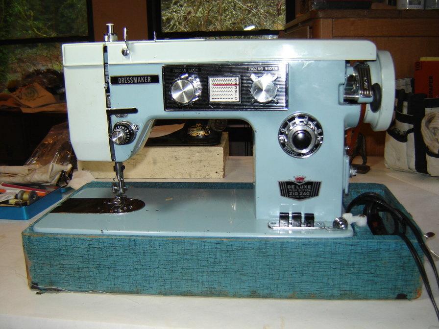 Dressmaker SWM40 Zigzag Does Not Work New Dressmaker Sewing Machine