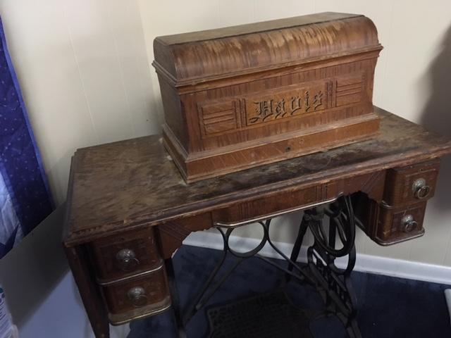 dating davis sewing machines