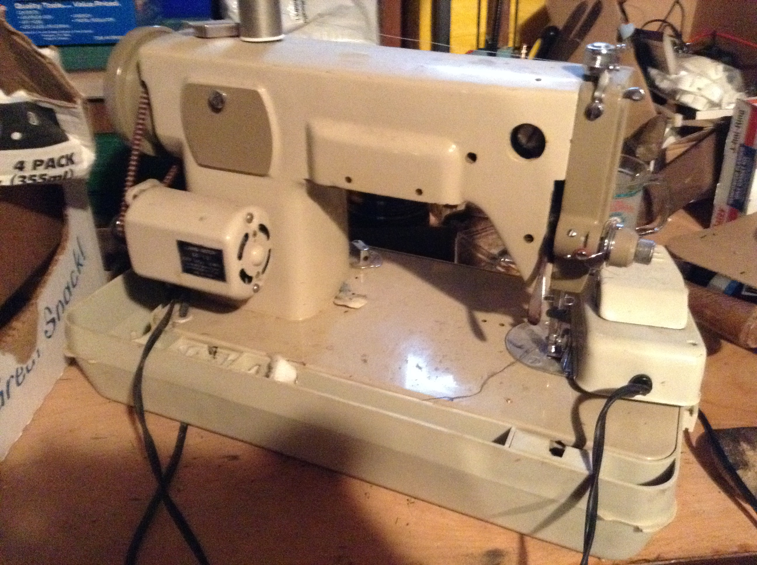 Vintage Japanese Badged Zig Zag And Straight Sew Sewing Machines Sewusa Threading Diagrams Attachment 582378attachment 582379